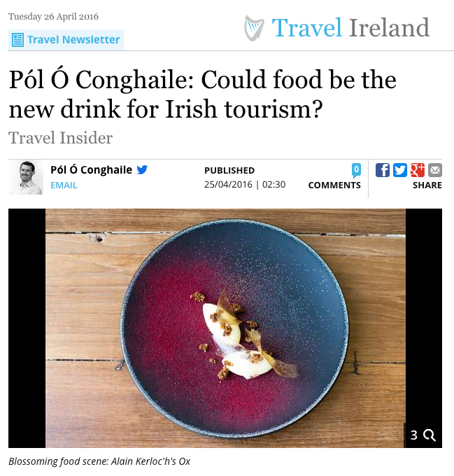 The Irish Independent (23/04/2016)